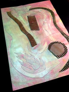 Collagraph Printing Plate