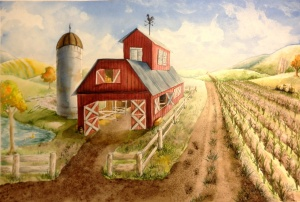 Barn Painting ME