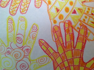 Pattern Handprint Resist