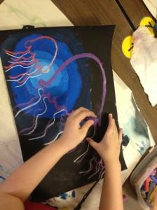 Value JellyFish Painting
