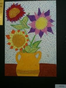 Vangogh Sunflower